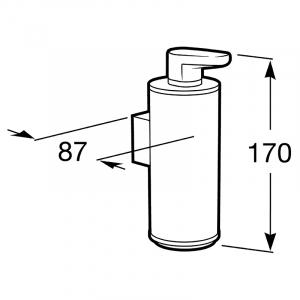 Дозатор для жидкого мыла Hotels с держателем