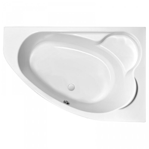 Акриловая ванна Kaliope 153х100 правая