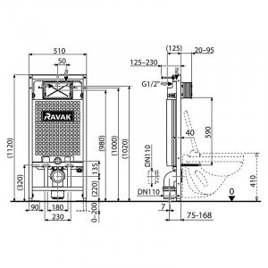 Інсталяційний модуль G II / 1120