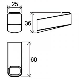 Гачок 10 ° (TD 110)