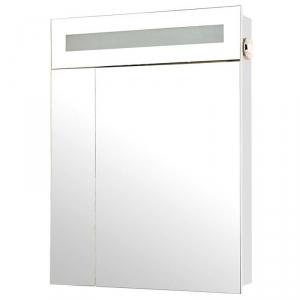 Шкафчик зеркальный Ника 60, белый