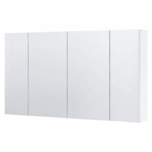 Шкафчик с зеркалом Dallas 105, белый глянец
