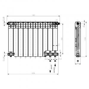 Радиатор G500F