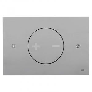Кнопка INO-X 02, матовий хром