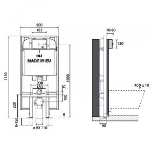 Інсталяційна система Oli 74 Plus