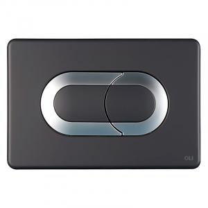 Кнопка Salina Soft-touch, чорна