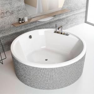 Ванна Meteora 160x160 з ніжками