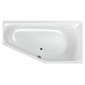 Ванна Noelia 165x90 права з ніжками