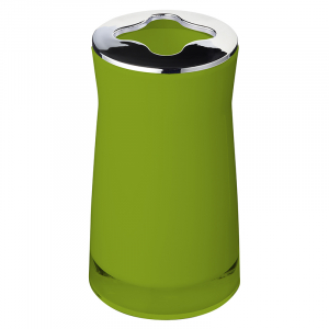 Стакан для зубных щеток Disco зеленый