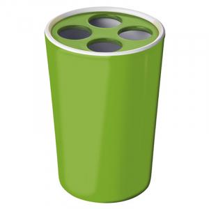 Стакан для зубних щіток Fashion зелений