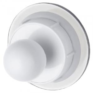 Крючок Eco круглый, белый
