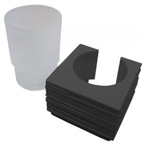 Стакан Brick, черная основа