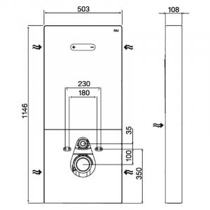 Інсталяційна система QR-Inox моноблок