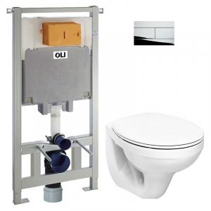 Інсталяційна система Oli 80 883423+чаша унітаза Idol з сидінням M1310002U