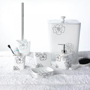 Стакан для зубных щеток Diamond белый