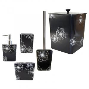 Дозатор Diamond для жидкого мыла черный
