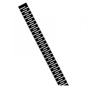 Душевой канал Медиум 50 с черной решеткой