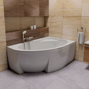 Ванна Asymmetric II 170x110 правая
