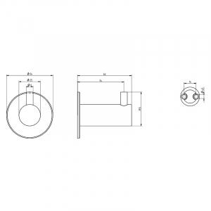 Крючок Lehnen Funktion гладкая поверхность