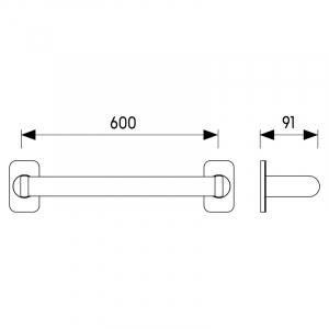 Поручень Lehnen Evolution 60