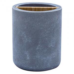 Стакан для зубных щеток Cement серый