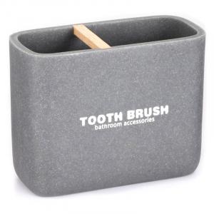 Стакан для зубних щіток Dakar сірий
