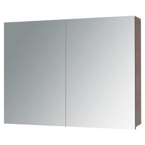 Шафка дзеркальний Alano 80, коричневий дуб