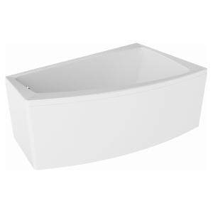 Акриловая ванна Lorena 150x90 правая с ножками