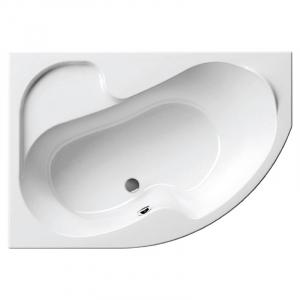 Акриловая ванна Rosa 140х105 левая