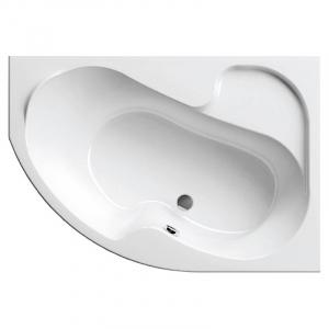Акриловая ванна Rosa 140х105 правая