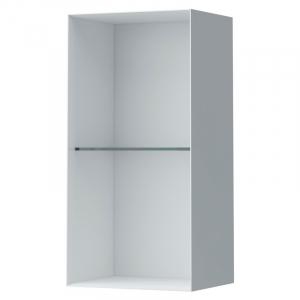 Шкафчик Palomba со стеклянной полочкой, белый