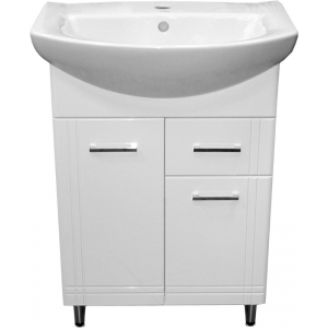 Шафка Aqua 60 під раковину Libra 60 (з ящиком), біла