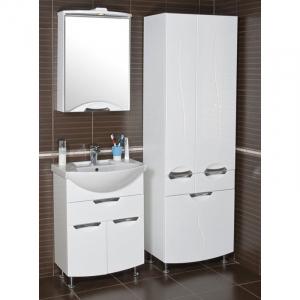 Шкафчик зеркальный Галерея Глория, левый