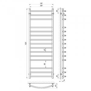 Полотенцесушитель Классик П15 50x150