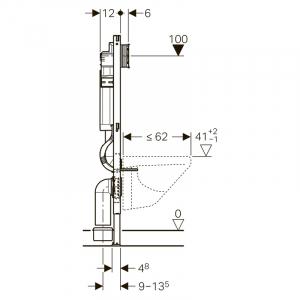 Інсталяційний модуль Duofix Sigma