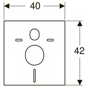 Інсталяційна система Duofix + Delta 51