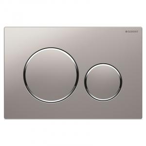 Кнопка Sigma 20, хром матовый