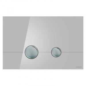 Кнопка Stero сіре скло