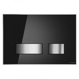 Кнопка Movi черное стекло