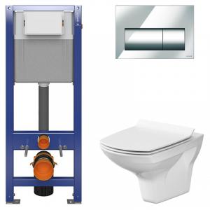 Инсталляционная система Aqua 22 c чашей унитаза Carina Clean On