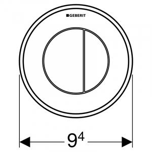 Кнопка дистанційна тип 10