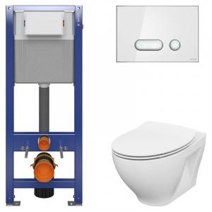 Инсталляционная система Aqua 22 QF с чашей унитаза Moduo