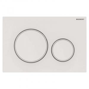 Кнопка Sigma 20 белая матовая