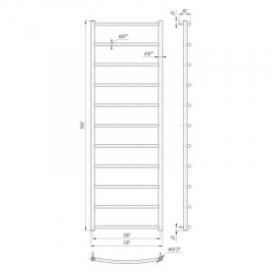 Рушникосушка Класік HP 155x53/50