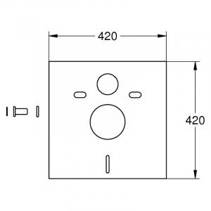 Інсталяційний комплект Euro 39206CB0