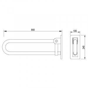Поручень Lehnen Concept Pro 85