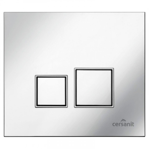Кнопка Target Square глянцевий хром