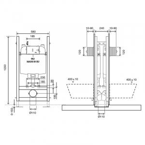 Інсталяційний модуль Oli 74 Doubled