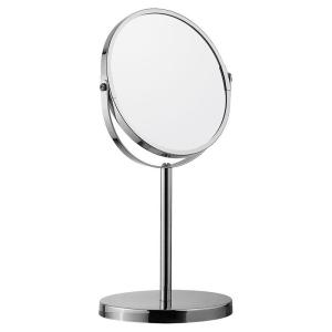 Дзеркало кругле на підставці, біле