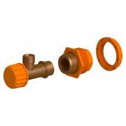 Кутовий клапан для інсталяції Aqua